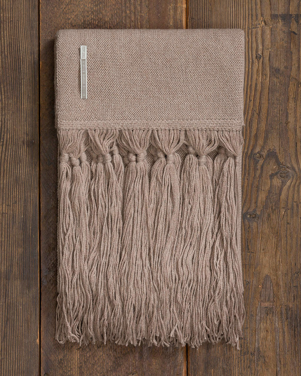 Alicia Adams Alpaca Cayman Throw, open weave alpaca throw blanket with tassels, alpaca throw, alpaca vs cashmere, light taupe tan alpaca throw