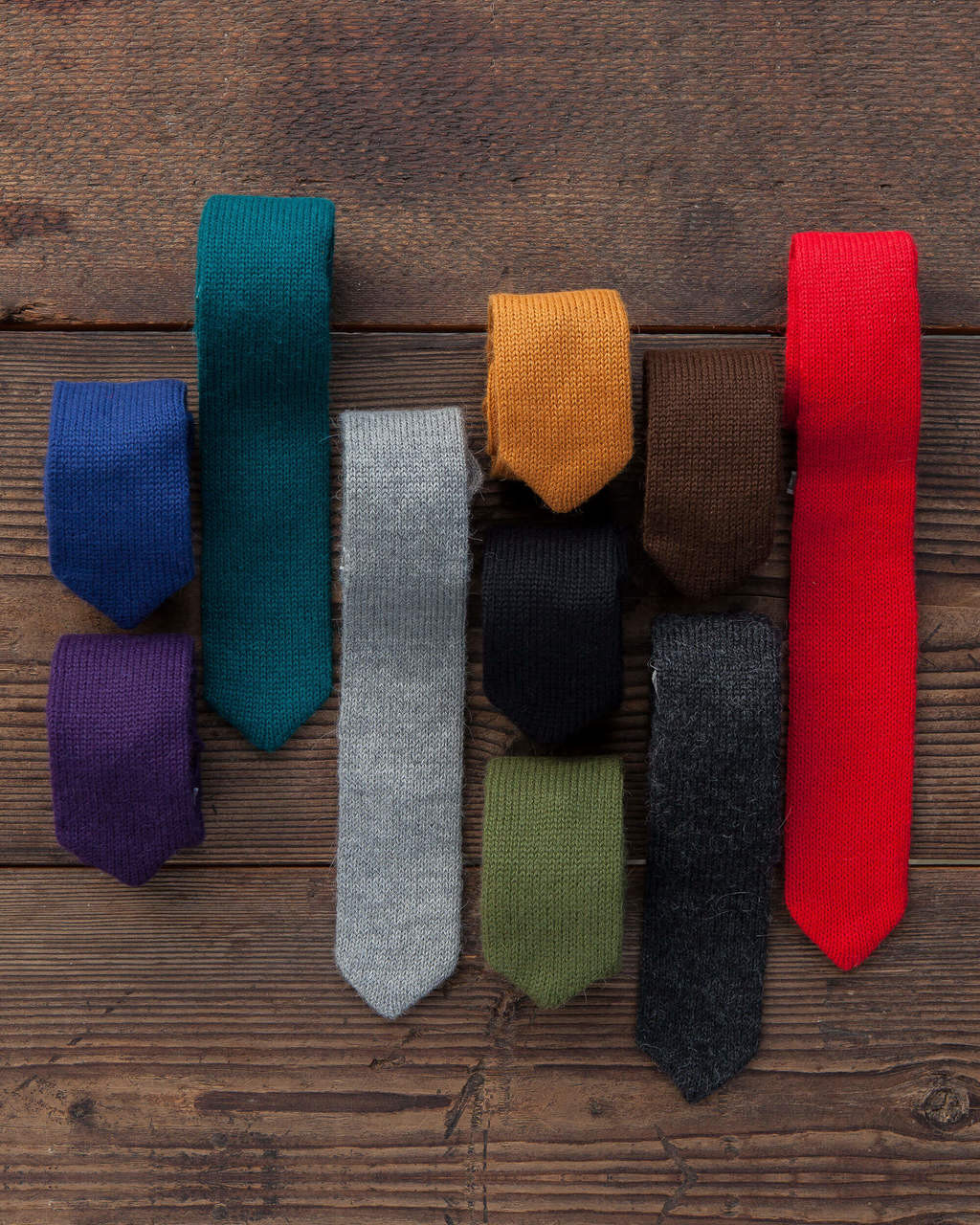 Alicia Adams Alpaca 100% Baby Alpaca Multi Color Mens Kids Necktie Tie Menswear Sustainable Natural Father's Day Gift Gift for Dad Stocking Stuffer Handmade in Peru