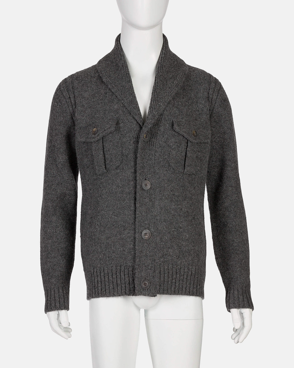 Alicia Adams Alpaca Milos Sweater , mens alpaca wool sweater, alpaca cardigan, fair trade made mens alpaca sweater, dark grey alpaca wool sweater