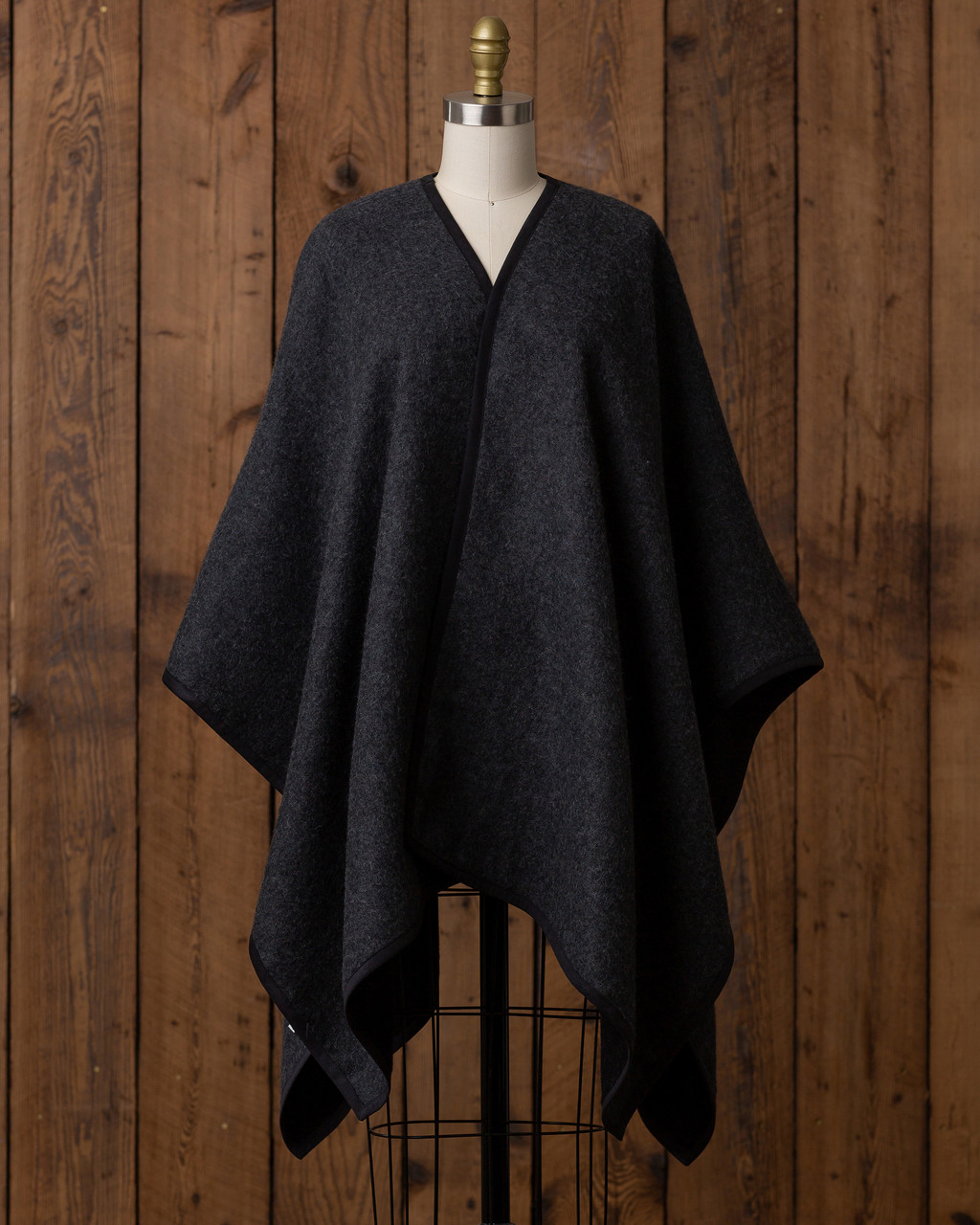 Alicia Adams Alpaca Vienna Cape, alpaca poncho cape for women, alpaca poncho, alpaca poncho womens, alpaca vs cashmere, black and charcoal womens cape