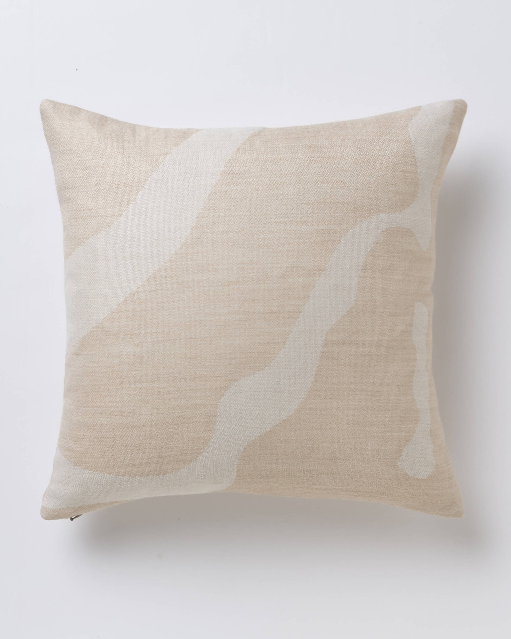 Alicia Adams Alpaca Zigby Pillow, alpaca pillow, alpaca throw pillow, alpaca decorative pillow, alpaca vs cashmere, beige and ivory alpaca throw pillow