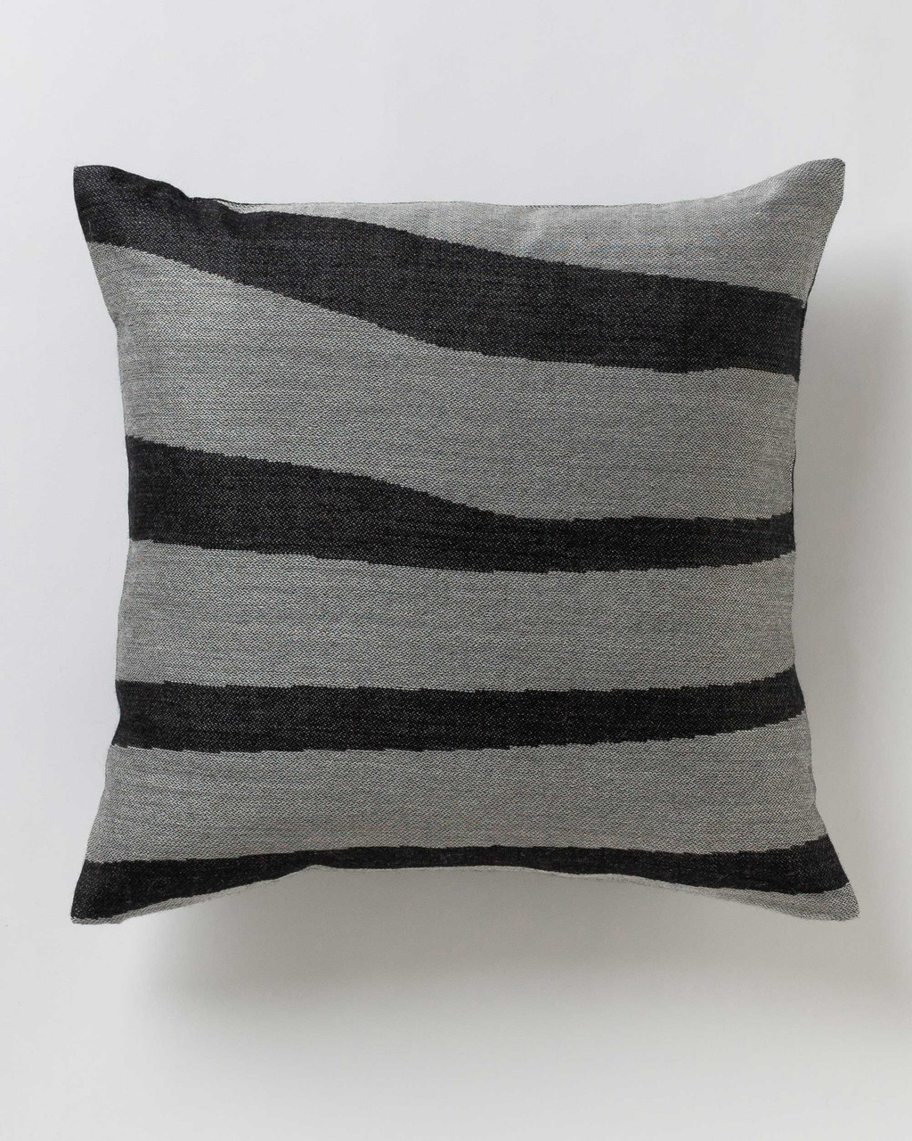 Alicia Adams Alpaca Zigby Pillow, alpaca pillow, alpaca throw pillow, alpaca decorative pillow, alpaca vs cashmere, ivory and black alpaca throw pillow