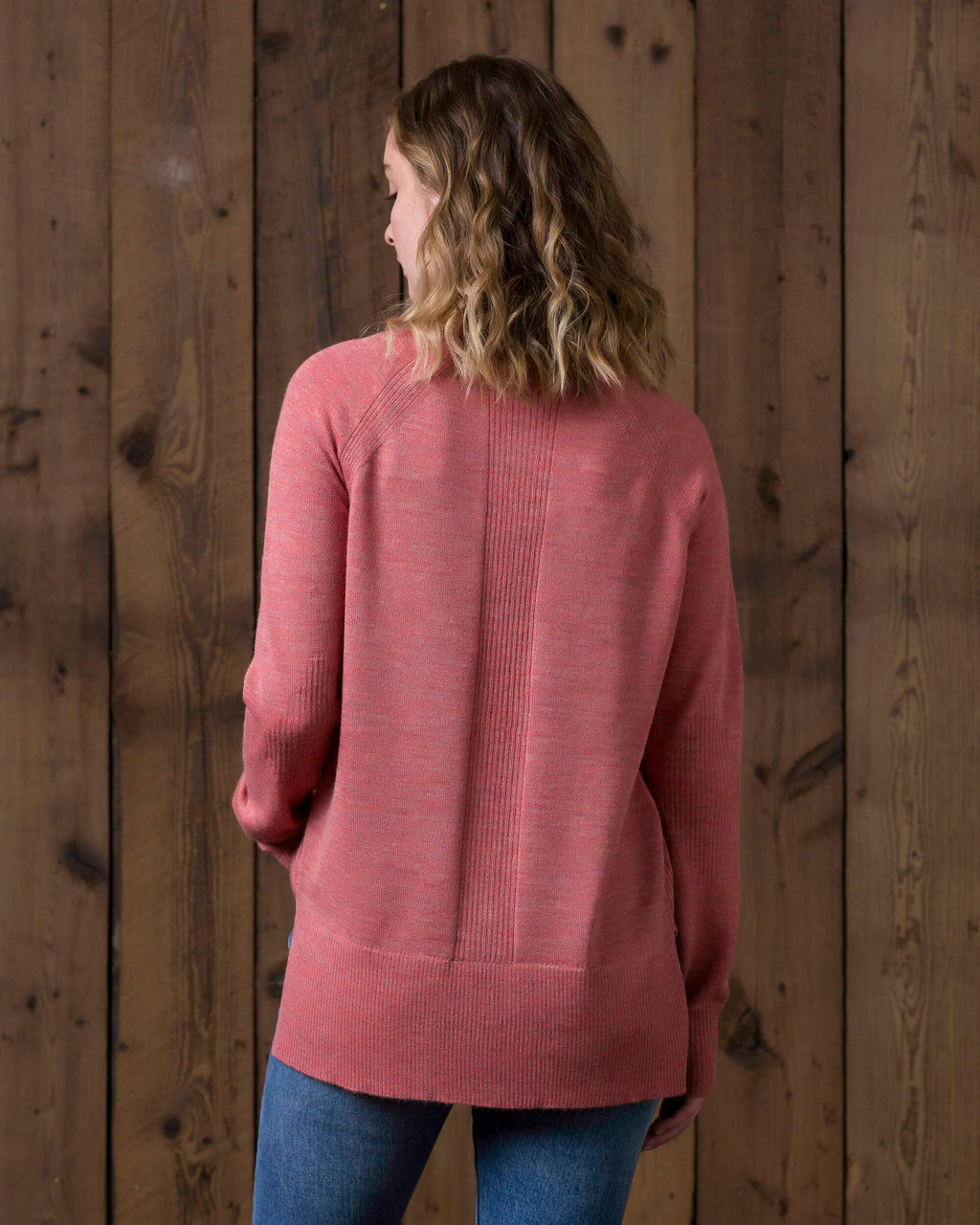 alicia adams alpaca brooke sweater, womens alpaca sweater, 100 alpaca sweater for women, lightweight alpaca sweater, cayenne pink womens alpaca sweater