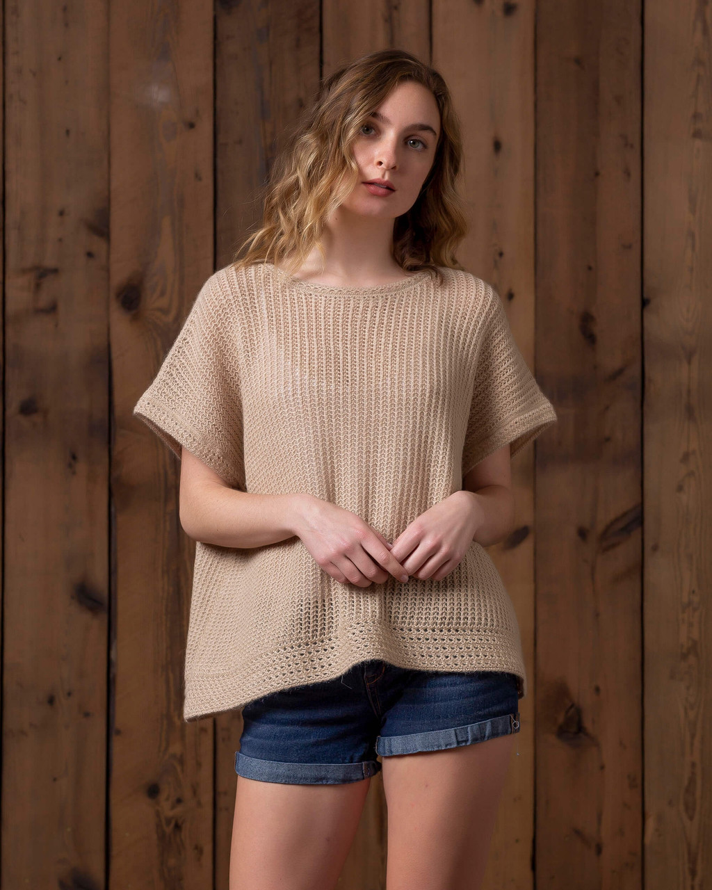 alicia adams alpaca callie sweater, lightweight alpaca sweater, baby alpaca sweater, alpaca sweater, womens alpaca top, beige alpaca sweater