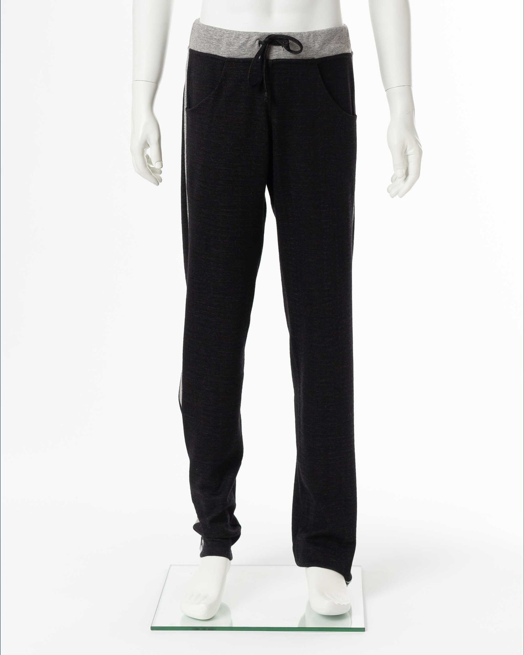 Alicia Adams Alpaca Sweatpants, alpaca clothing, alpaca lounge pants , alpaca sweater pants, alpaca clothing men's, black alpaca sweatpants