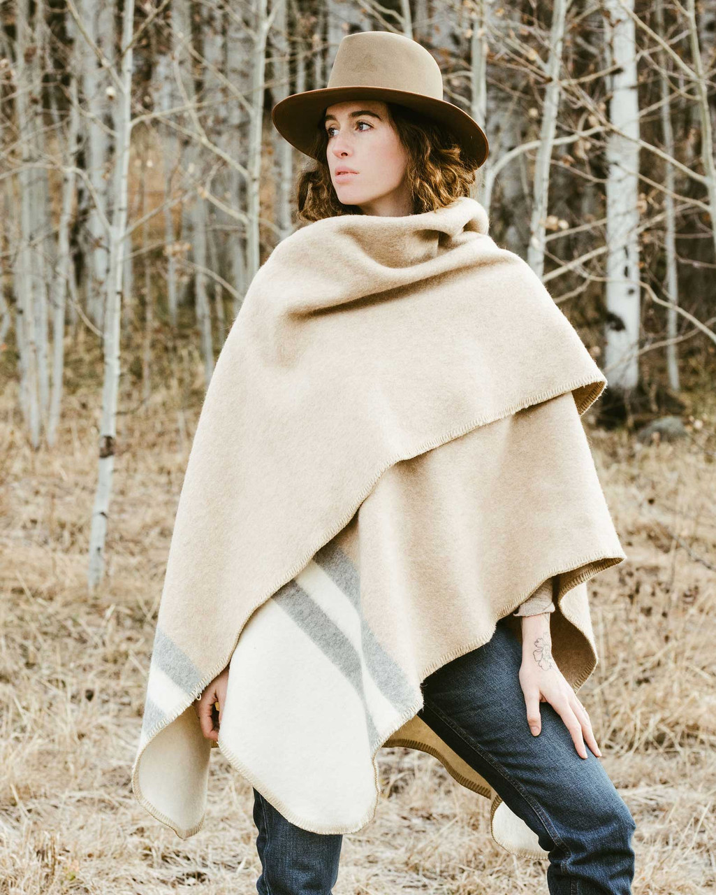 Alicia Adams Alpaca Aspen Cape, alpaca poncho cape for women, alpaca poncho womens, alpaca wrap, ivory, light grey and beige alpaca cape