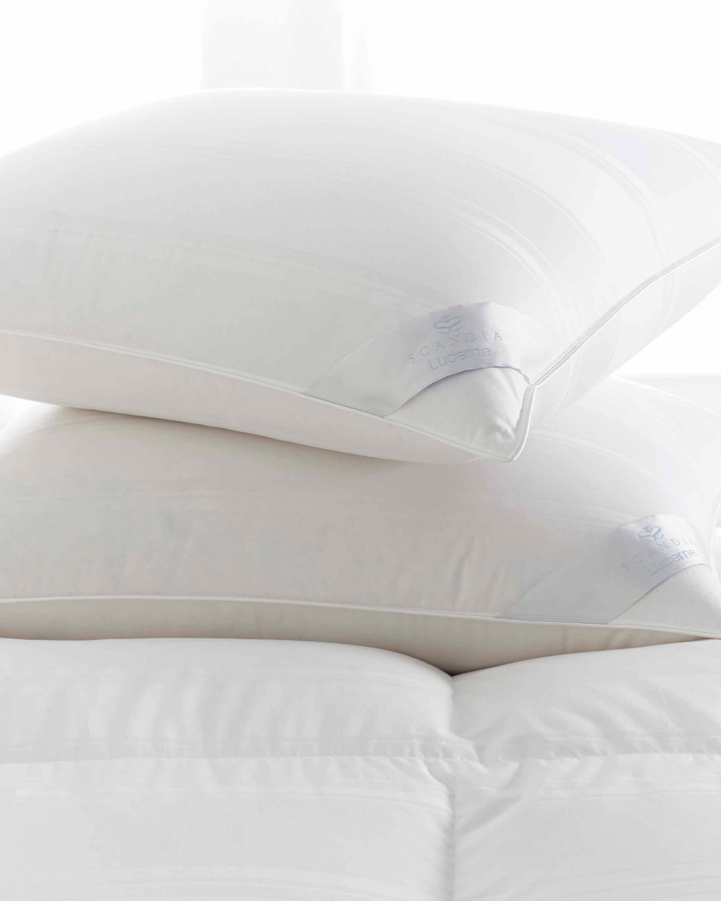 Lucerne Down Pillow by Scandia Home