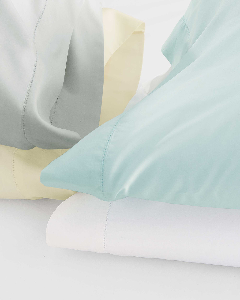 Classic Natural Percale Shams by Scandia Home