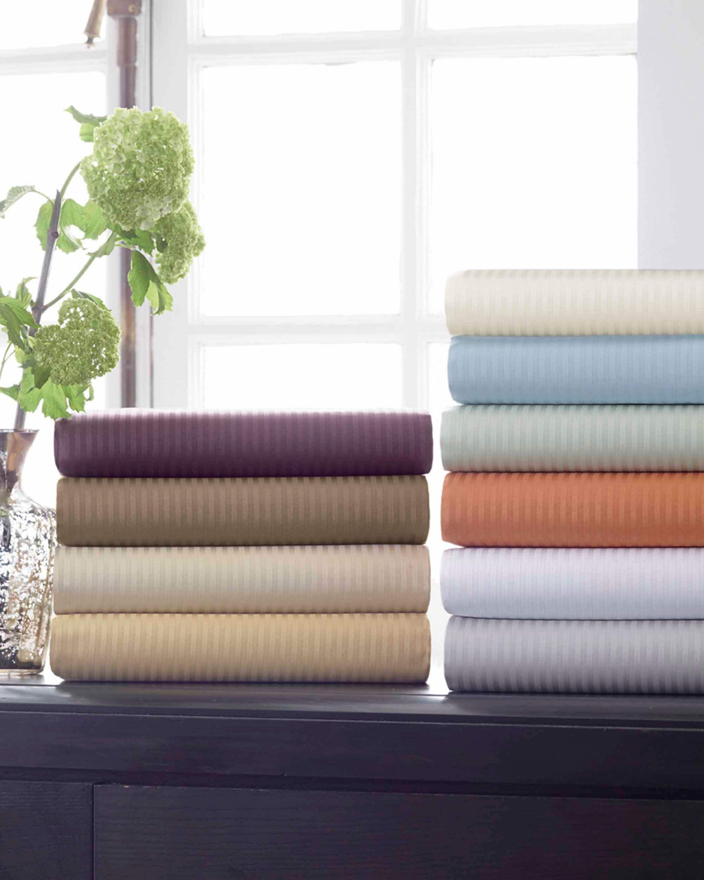 Savoia Flat Sheets by Scandia Home