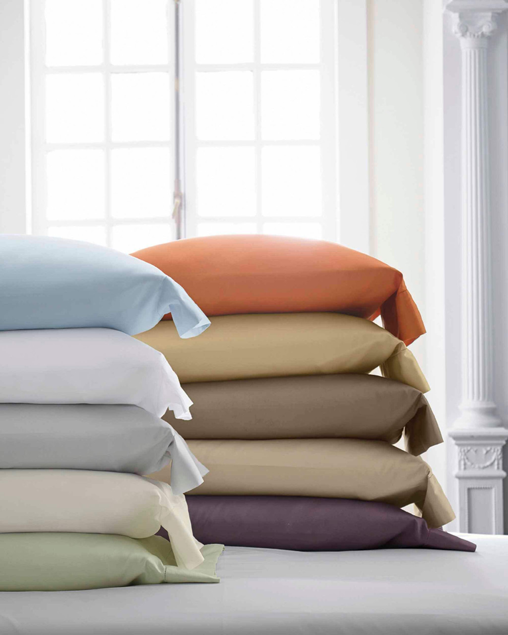 scandia down stresa duvet cover - knife edge w/ button, scandia home stresa duvet cover - knife edge w/ button, scandia down linens, scandia home linens