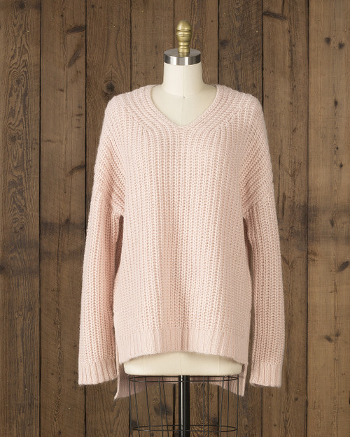Alicia Adams Alpaca Oversized Sweater, alpaca sweaters women, oversized alpaca sweater, oversized sweaters for women,  pink powder alpaca sweater