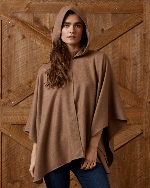 Alicia Adams Alpaca Mao Cape, alpaca poncho cape for women, alpaca poncho, alpaca clothing, alpaca cape, alpaca vs cashmere, tobacco alpaca cape