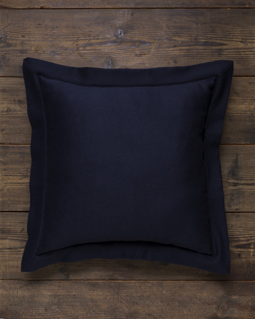 Alicia Adams Alpaca Hudson Euro Pillow, alpaca pillow, alpaca throw pillow, alpaca decorative pillow, alpaca vs cashmere, navy blue alpaca euro throw pillow
