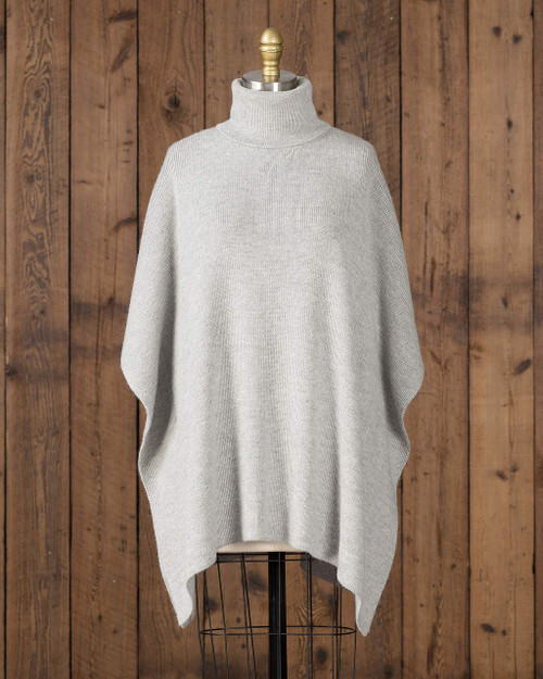Alicia Adams Alpaca Marie Sweater, alpaca turtleneck sweater, womens turtleneck sweater, alpa sweater for women , light grey alpaca sweater