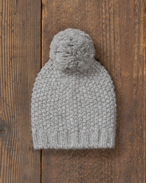 alicia adams alpaca whistler hat, womens beanie hat, alpaca beanie hat, all fair-trade made hat, alpaca vs cashmere, light grey alpaca hat