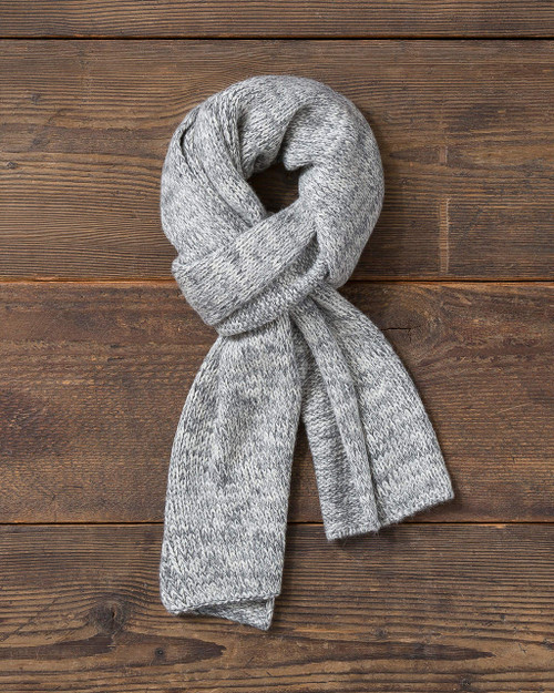 alicia adams alpaca davos scarf, 100% baby alpaca, 100 alpaca, womens luxury scarft, mens luxury scarf, alpaca accessories, scarf, winter wardrobe, knit scarf, head ware, accessories, warm, cozy, grey, gray, pearl,  luxurious, ultra-soft,  all fair-trade made in peru, sustainable, softer than cashmere