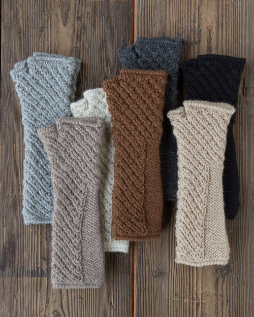 Alicia Adams Alpaca Baby Alpaca Handwarmers Gloves on Sale Clearance Cheap Closeout Alpaca Handmade in Peru