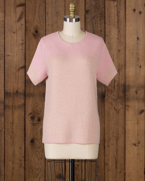 alicia adams alpaca alana top, womens alpaca sweater, lightweight womens alpaca top, alpaca sweater, alpaca vs cashmere, light pink womens alpaca top