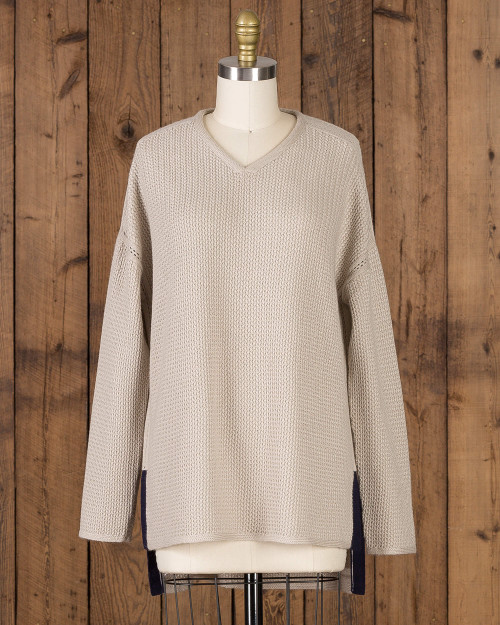Alicia Adams Alpaca Zoe Womens Alpaca Sweater, alpaca boyfriend sweater, 100% alpaca, womens sweater, oversized sweater, loose fit womens alpaca sweater, wool boyfriend sweater, cashmere boyfriend sweater, ivory, white, cream, navy