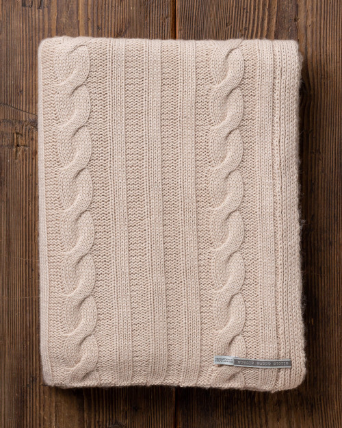 alicia adams alpaca jackson throw, alpaca blanket, alpaca throws and blankets, 100 alpaca blanket, cable knit baby alpaca throw, light beige tan alpaca throw