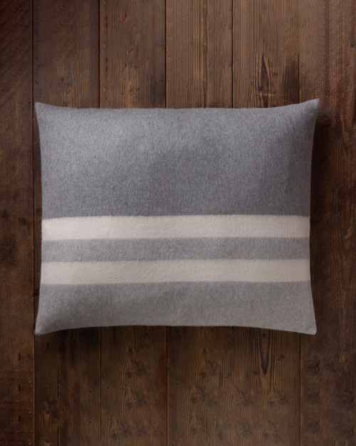 alicia adams alpaca field pillow, alpaca pillow, alpaca throw pillow, alpaca decorative pillow, alpaca vs cashmere, light grey and ivory alpaca throw pillow