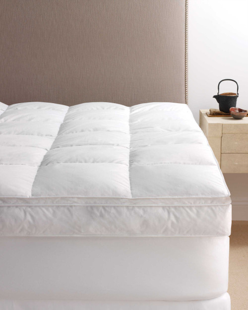 scandia down european white down pillowtop featherbed, scandia home european white down pillowtop featherbed, scandia down mattress pad, scandia home mattress pad