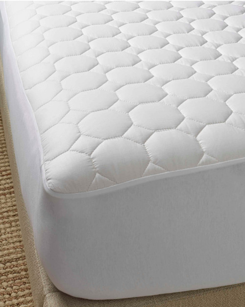scandia down pure cotton mattress pad, scandia home pure cotton mattress pad, scandia down mattress topper, scandia home mattress topper