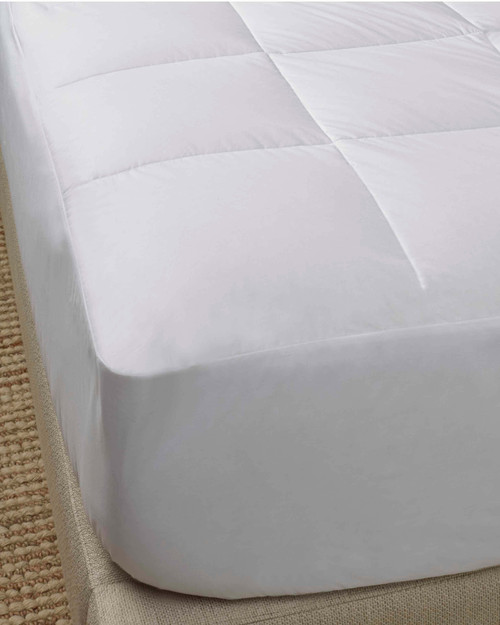 scandia down european white goose down filled mattress pad, scandia home european white goose down filled mattress pad, scandia down mattress pad, scandia home mattress pad