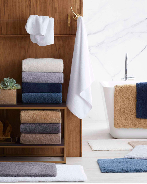 scandia down indulgence hand towel, scandia home indulgence hand towel, scandia down luxury bath collection, scandia home bath collection
