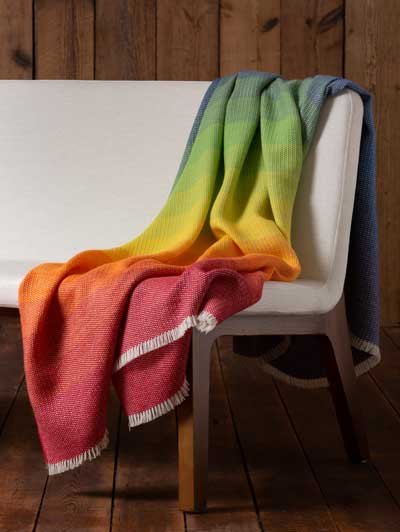 ALICIA ADAMS ALPACA ANNIVERSARY THROW BLANKET