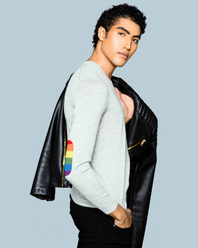 Rainbow Sweater for Men