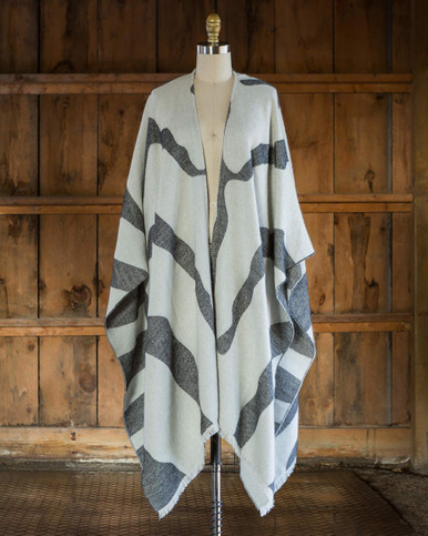 Zebra Blanket Cape