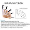 Messermeister Magnet Knife Block Acacia (MKB-10/AC)