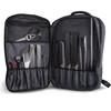 Messermeister Chef Backpack (1022-CBP) open pockets full