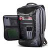 Messermeister Chef Backpack (1022-CBP) front pocket open, full