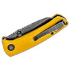 Kizer Shard Yellow G10 (V2531N1) closed pocket clip