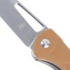 Kizer Yukon Brown G10 (V4004N2) open logo