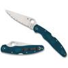 Spyderco Police 4 Blue FRN (C07FS4K390)