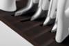 Wusthof Classic White Slim Block Set 6 Slot Santoku Version (1090270601) bolsters knife block