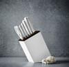 Wusthof Classic White Slim Block Set 6 Slot Bread Knife Version (1090270602) lifestyle angle