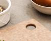 """Epicurean Cutting Board Natural 8"""" × 6"""" (001-080601) hole"""