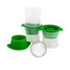 Tovolo Golf Ball Ice Molds 3Pc (TV-22026-999) molds with ice
