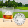 Tovolo Golf Ball Ice Molds 3Pc (TV-22026-999) lifestyle ice in glass
