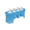 Tovolo Robot Pop Molds 4Pc (TV-81-12097) mold in tray