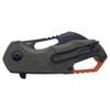 MKM Isonzo OD Green Black Hawkbill (MKMF0313) closed clipside