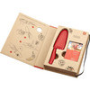 """Zwilling Twinny 4"""" Kid's Chef's Knife Red (36550-101) inside package"""