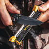 Work Sharp Pocket Knife Sharpener (WSGPS-12) in use serrated