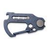 CIVIVI Polymorph Blue Titanium Carabiner Keychain Multi-Tool (C20045-3)