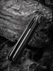 WE Eidolon Black G10 Single Edge Blade (WE19074B-B) closed frame