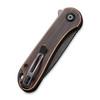 CIVIVI Elementum Copper Black Tanto (C907T-B) closed clipside